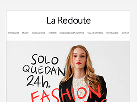 Front End  Newsletters La Redoute