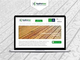 Desarrollo WordPress Hydrotec