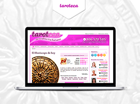 Front End  web Taroteca